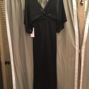 "Theia ""Simona"" jumpsuit in black  size 6"
